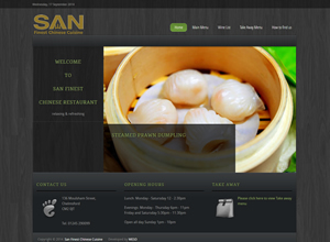 weso web develop SAN Finest Chinese Cuisine