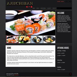 weso web develop Aji Ichiban Japanese