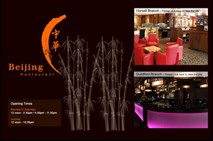 weso web develop Beijing Restaurant