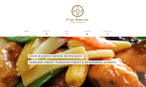 weso web develop Four Season Restaurant